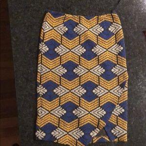 Anthro pencil skirt